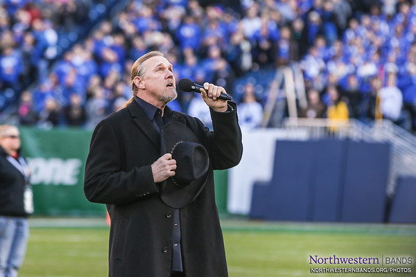 Trace Atkins Sings the National Anthem at the Music City Bowl