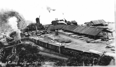 In addition to passengers, trains served busy lumber mills in Wheeler, Brighton, Garibaldi and Tillamook.