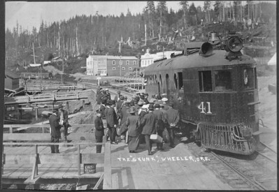 Commuter service from Wheeler to Tillamook proved immediately popular. Travel by auto or horse required the long journey via Miami/Foley Road.