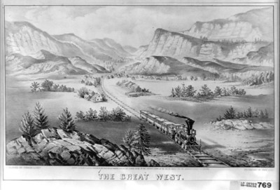 Beginning in the 1850s, politicians and business leaders from both east and west advocated railroads to span the continent. Boosters believed trains would secure America's destiny as a nation from sea to sea.