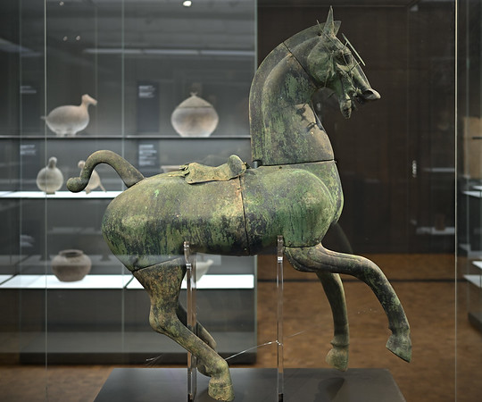Horse, China, Eastern Han dynasty, 2nd c.