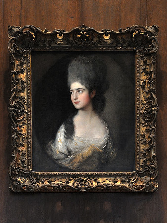 """Portrait of Miss Elizabeth Linley"" (c. 1775), by Thomas Gainsborough"