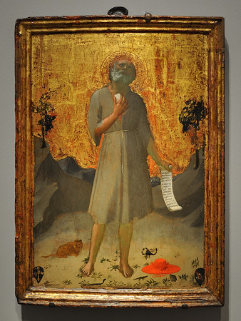 Saint Jerome (1419-1420), by Fra Angelico