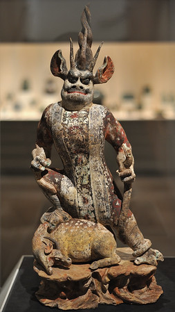 Tomb guardian (mid-8th c.), China