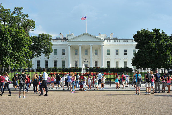 The White House (northern facade)