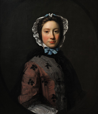 Rosamund Sargent, née Chambers (1749) by Allan Ramsay