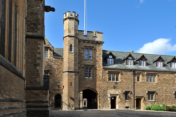 Gatehouse on the Front Quad