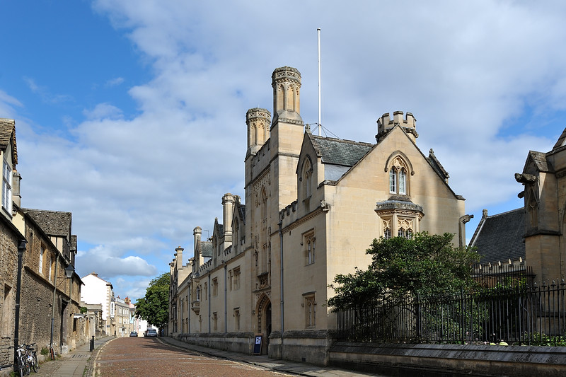 Merton College on Merton Street