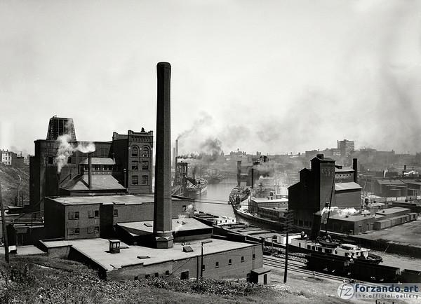 Factoryville: 1910