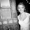 Biltmore Hotel black & white bridal photo