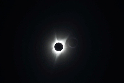 Eclipse - Double Exposure