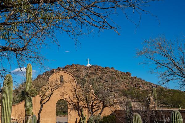 Grotto Hill at Mission San Xavier del Bac  _D752829-Edit