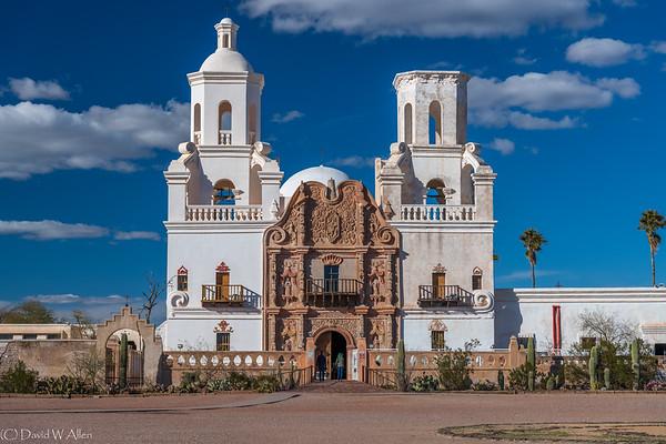 Mission San Xavier del Bac  _D854178
