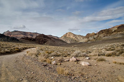 Racetrack Road in Death Valley, California