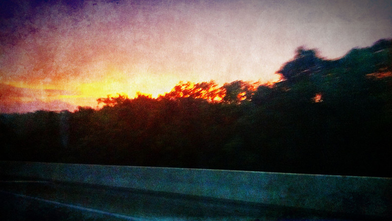 Road trip to Bama<br /> Sunset :)