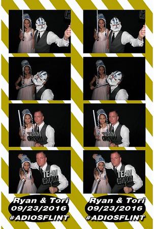 Tori and Ryan's Wedding 9-23-16