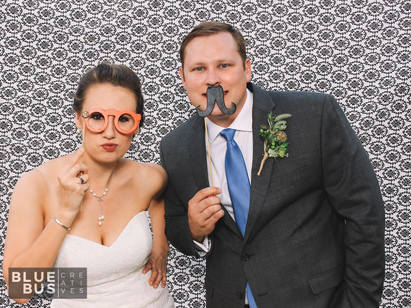 Snapping photos at Tori and Patrick's wedding! 