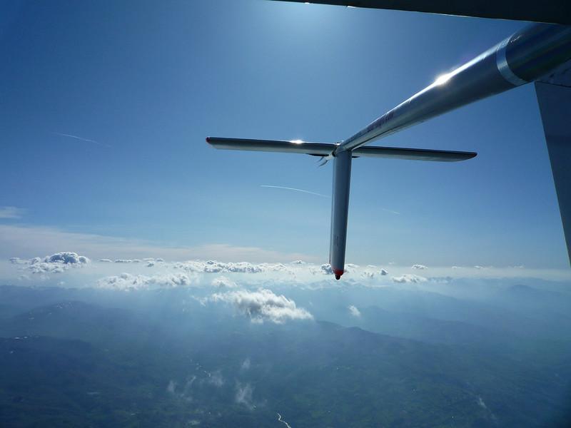 Final glide to Pavullo