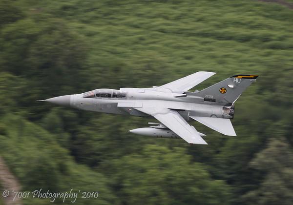 ZE201/'HU' (111 SQN marks) Tornado F.3 - 5th July 2010.