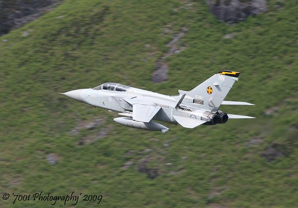 ZE200/'HN' (111 SQN marks) Tornado F.3 - 10th June 2009.