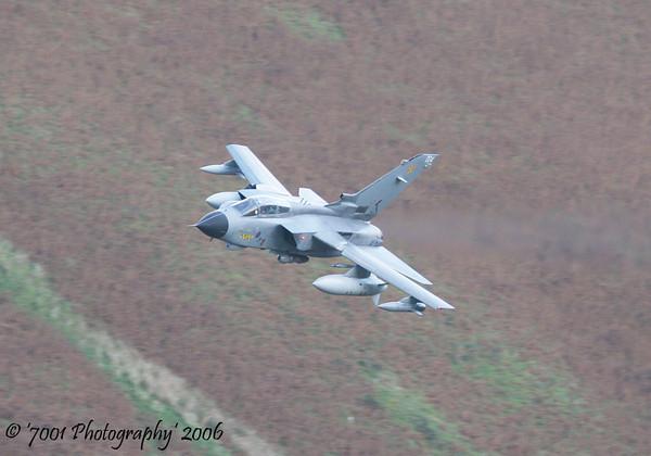 ZA370/'004' (31 SQN marks) Tornado GR.4A - 26th October 2006.
