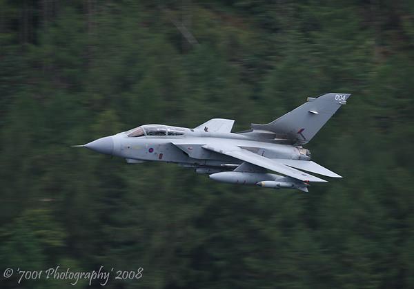 ZA370/'004' (Unmarked) Tornado GR.4A - 11th September 2008.