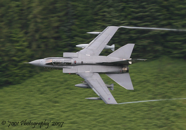 ZA373/'007' 'H' (2 SQN marks) Tornado GR.4A - 13th July 2007.
