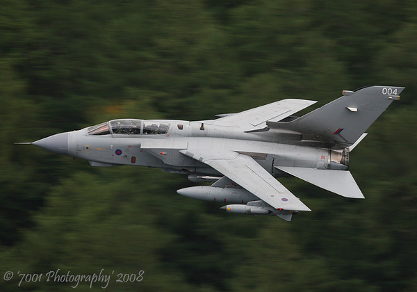 ZA370/'004' (Unmarked) Tornado GR.4A - 11th September 2008.