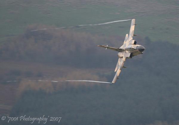ZH917 (Saudi TSP) Tornado IDS - 1st November 2007.
