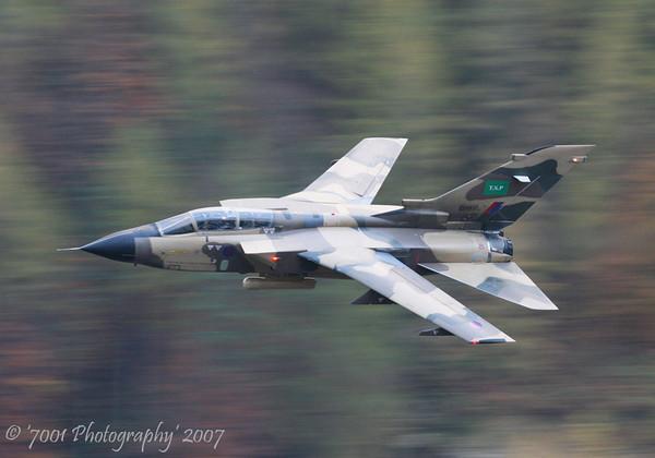 ZH917 (Saudi TSP) Tornado IDS - 31st October 2007.