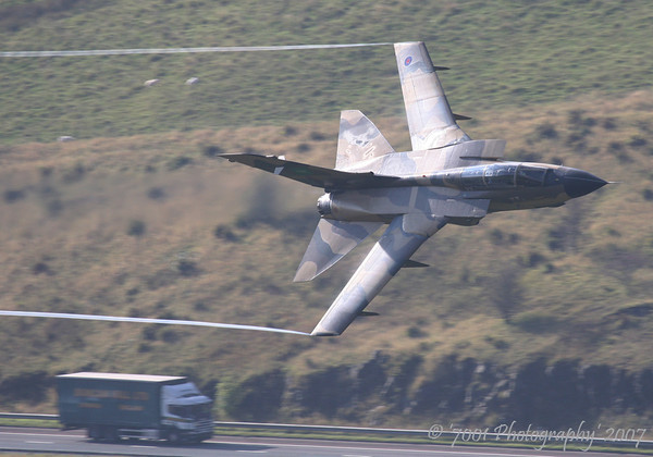 ZH917 (Saudi TSP) Tornado IDS - 10th October 2007.
