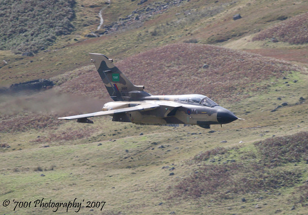 ZH917 (Saudi TSP) Tornado IDS - 5th October 2007.