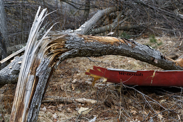 The remains of Mark's canoe - 598C8493dK