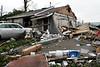 Sturbridge Auto Body - Rte 131, Sturbridge, MA minutes after the tornado went through.