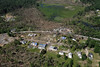 Aerial photo taken 6/7/2011, Sturbridge, MA tornado - Looking west, Willard Rd area.