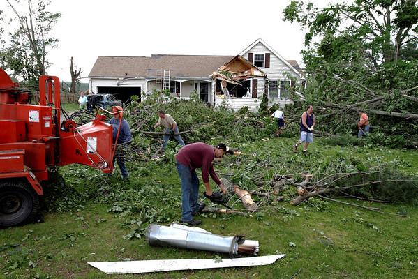 Willard Rd, Sturbridge, MA - the cleanup continues.