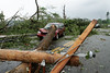 Rte 131, Sturbridge, MA minutes after the tornado went through.