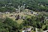 Aerial photo taken 6/7/2011, Sturbridge, MA tornado - Fiske Hill area