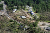Aerial photo taken 6/7/2011, Sturbridge, MA tornado - Willard Rd area.