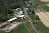 Aerial photo taken 6/7/2011, Monson, MA tornado  - West View Farms.