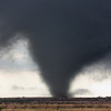 The beginning stages of a strong, long-track tornado near Manitou, OK, on the afternoon of November 7, 2011.
