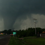 An EF 4 tornado passes dangerously close to Shawnee Oklahoma on May 19th, 2013.