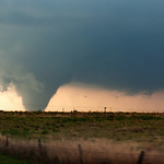 April 14th, 2012 there were a series of tornadoes from multiple supercell thunderstorms as they raced into Southern Kansas. As with most tornado events I only captured a couple decent images ...