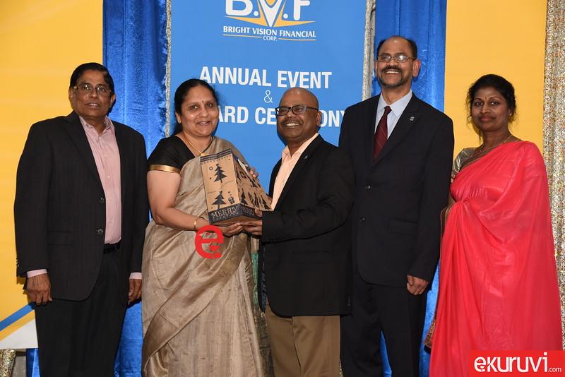 Bright Vision Financial Award , Varna Kanapathippillai, Bright Vision Financial Corp