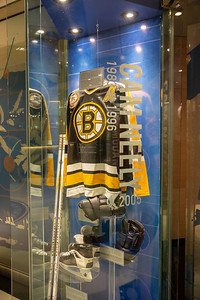 Cam Neely aka Sea Bass at the Hockey Hall of Fame.