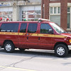 Car 22<br /> <br /> Shop #: 20230<br /> Model: 2001 Ford E350XL SD<br /> <br /> Retired from front line service August 2007<br /> <br /> Photo by Kevin Hardinge