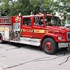 Pumper 212<br /> <br /> Shop #: 25005<br /> Cab/Chassis: 1997 Freightliner FL80<br /> Manufacturer: Dependable<br /> Pump: 1050 gpm<br /> Tank: 500 gal.<br /> Foam: None<br /> <br /> Retired from front line service June 2008<br /> <br /> Photo by Kevin Hardinge