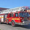 Aerial 133<br /> <br /> Shop #: 27013<br /> Cab/Chassis: 1997 Spartan Gladiator<br /> Manufacturer: Smeal<br /> Pump: 1500 gpm<br /> Tank: 400 gal.<br /> Ladder: 100'<br /> <br /> Photo by Kevin Hardinge
