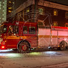 Pumper 314 operating at a 2nd alarm fire - 89 Isabella St., Jan. 2, 2014<br /> <br /> Photo by Kevin Hardinge