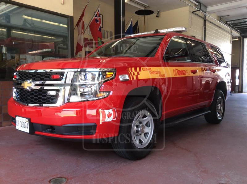 Platoon Chief 30 - New Rig<br /> 2015 Chevrolet Tahoe<br /> <br /> Photo by Larry Thorne